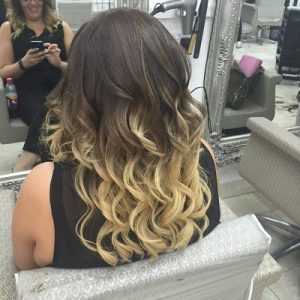 After Great Lengths hair extensions, Coventry hair salon