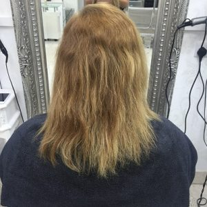 Before hair extensions,Coventry hair salon
