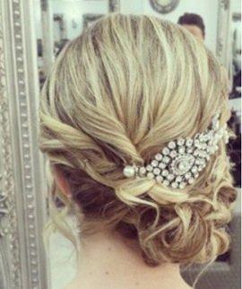 Wedding Hair at Suzanne's Hair Salon