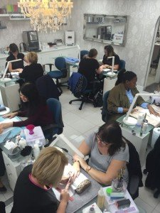 nail treatments at Suzanne's, Coventry