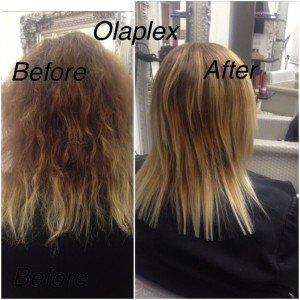 Olaplex hair colour repair, Coventry hair salon