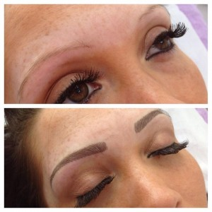 Semi permanent eyebrows, Coventry beauty clinic