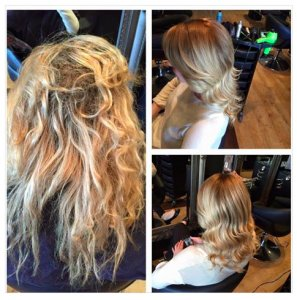 olaplex-before-and-after, coventry salon