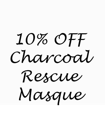 10% OFF New Charcoal Rescue Masque
