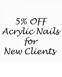 5%-OFF-Acrylic-Nails-for-New-Clients