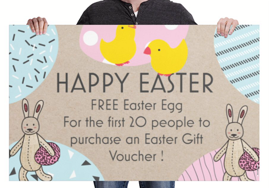 Easter eggs gift vouchers coventry hair beauty salon easter offer suzannes hair beauty salon coventry negle Gallery