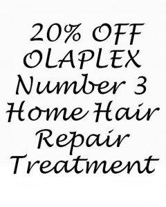 20% OFF OLAPLEX Home Care Treatment