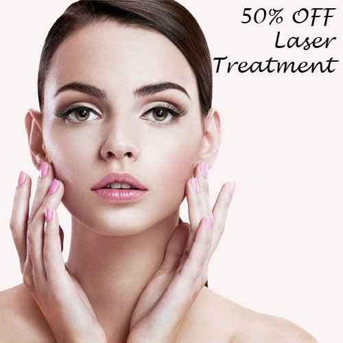50% OFF Laser & IPL Treatments