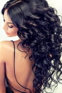 Party Hairstyles & Perfect Nails