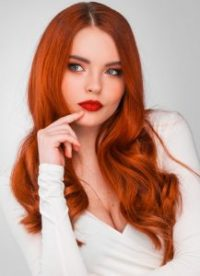 red hair colour trend, suzanne's hair salon, coventry