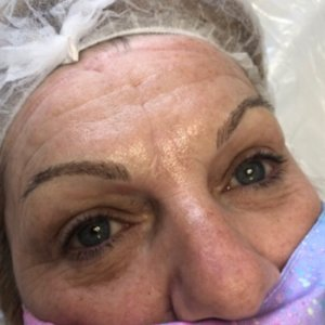 microblading after at top beauty salon in Coventry 1