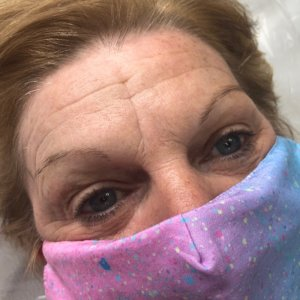 microblading before at top beauty salon in coventry